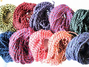 5 or 10 metres of Twin Colours  Thick Cotton Bakers Twine  Choice of Colours